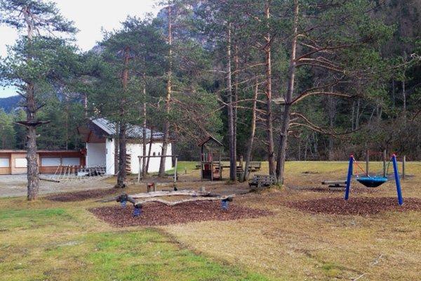Parco giochi a Gschnitz