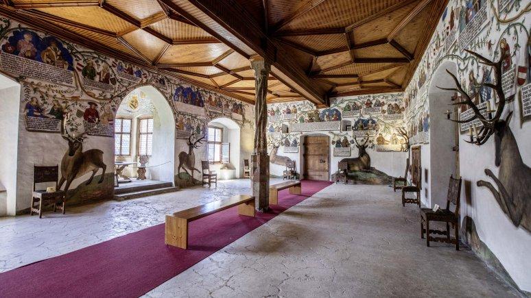 La sala degli Asburgo, © Schloss Tratzberg