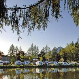 Il campeggio al Natterer See, © Innsbruck Tourismus / Woergoetter
