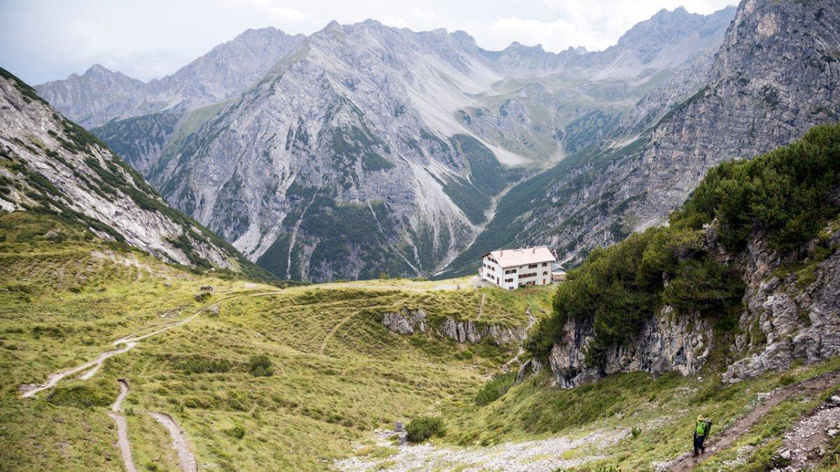 Sentiero dell'aquila: percorso nelle Alpi della Lechtal, © Tirol Werbung