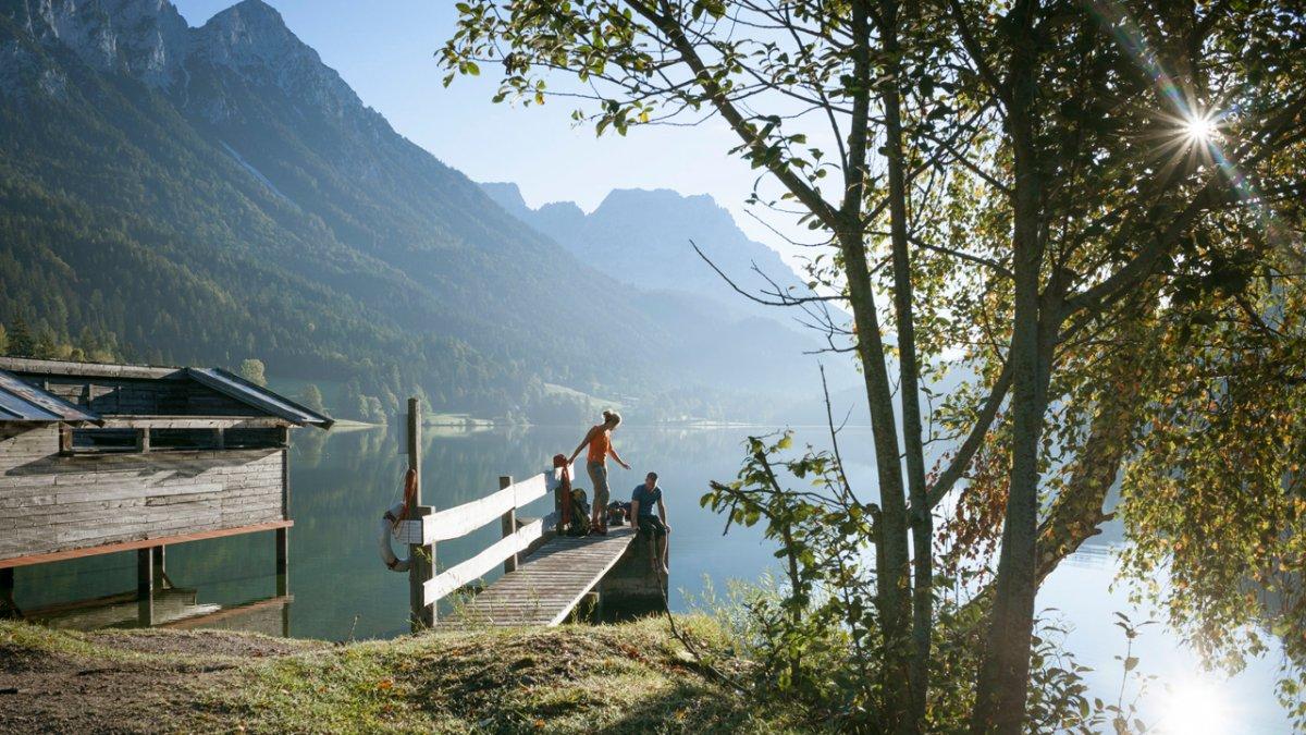 Sentiero dell'aquila: pausa al lago Hintersteiner See, © Tirol Werbung