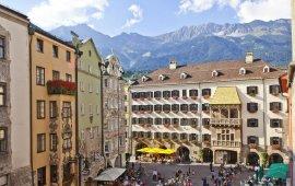 Il centro città di Innsbruck, © Innsbruck Tourismus