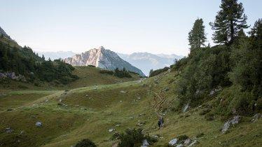 Sentiero dell'aquila, tappa 06: Pinegg – Steinberg am Rofan, © Tirol Werbung/Jens Schwarz
