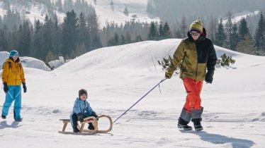 Slittino a Sillian, © Tirol Werbung / Hans Herbig