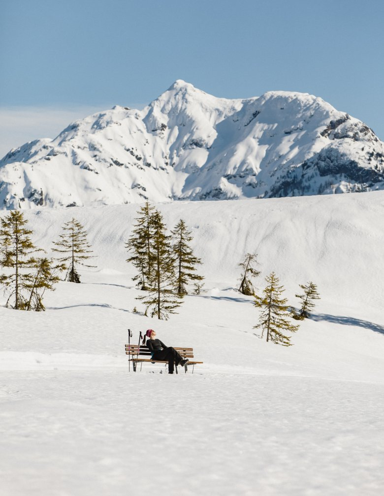 Una pausa nella neve a Hochfilzen im PillerseeTal (Foto: Tirol Werbung)