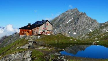 Sentiero dell'aquila Osttirol Tappa 6: il rifugio Sudetendeutsche Hütte, © DAV