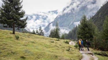 Sentiero dell'aquila, tappa 19: Rifugio Anhalter Hütte – Rifugio Hanauer Hütte, © Tirol Werbung/Dominik Gigler