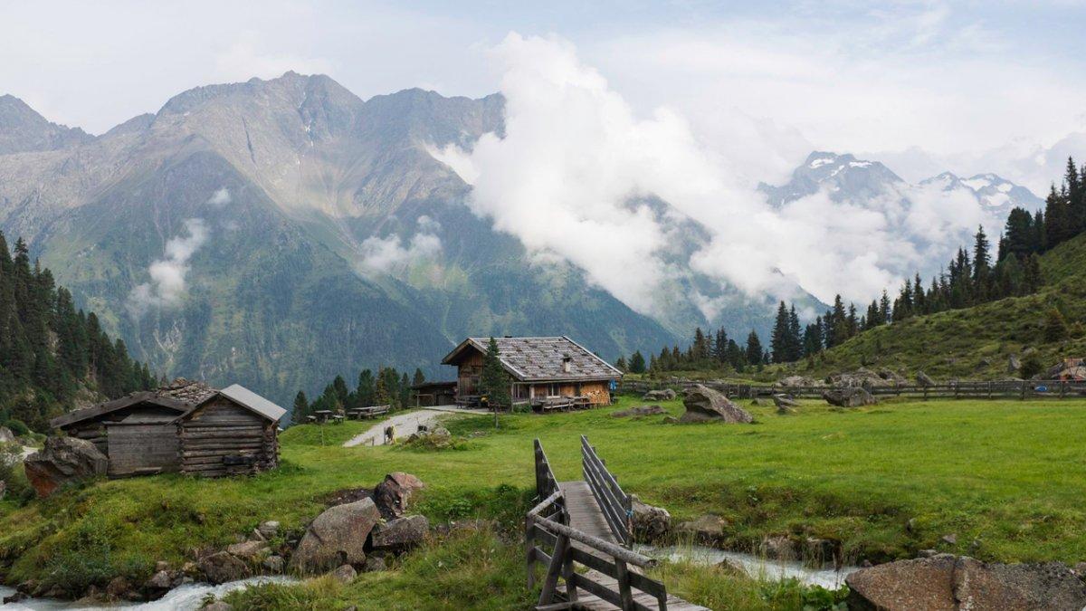 Falbesoner Ochsenalm nella valle Stubaital, © Jörg Koopmann