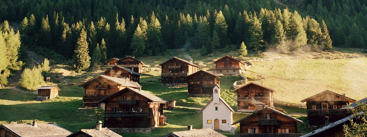 La malga Oberstaller Alm in Osttirol, © Tirol Werbung