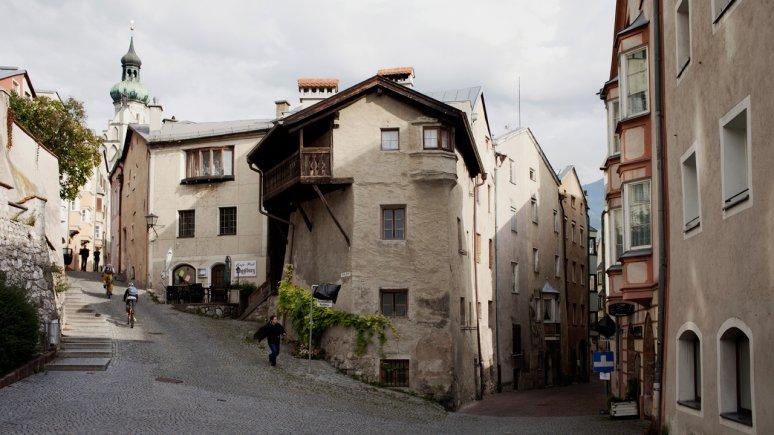 Il centro storico di Hall in Tirol, © Verena Kathrein