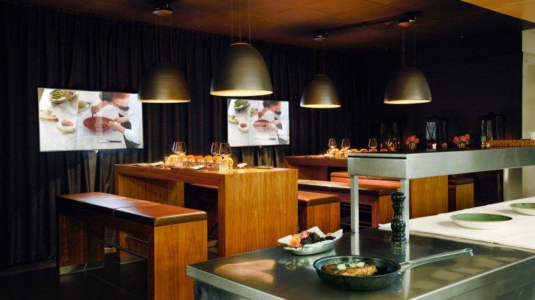 Interalpen-Chef's Table nell'Interalpen Hotel Tyrol, © Interalpen-Hotel Tyrol