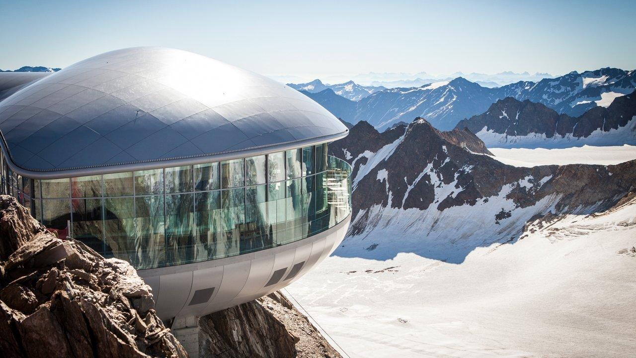 Café 3440 al ghiacciaio della Pitzal, © Pitztaler Gletscherbahnen