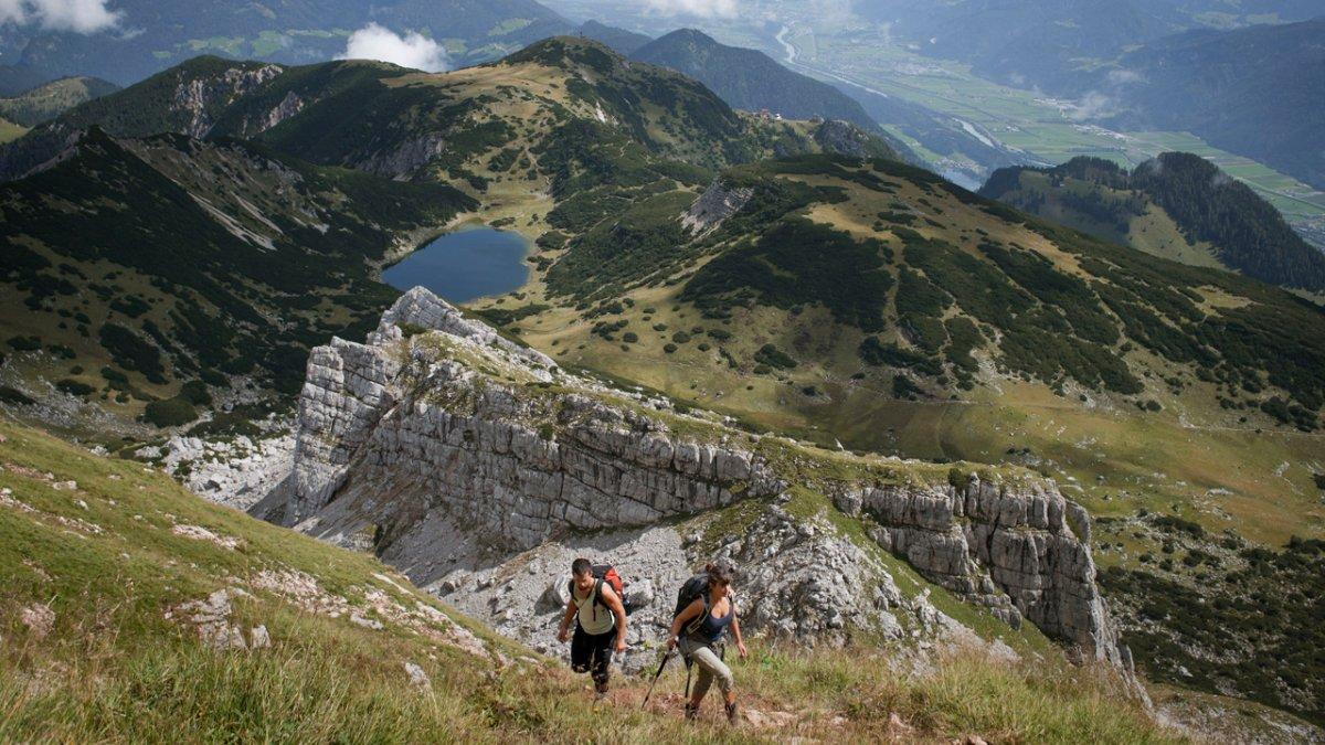 Sentiero dell'aquila: tappa nel Rofan, © Tirol Werbung