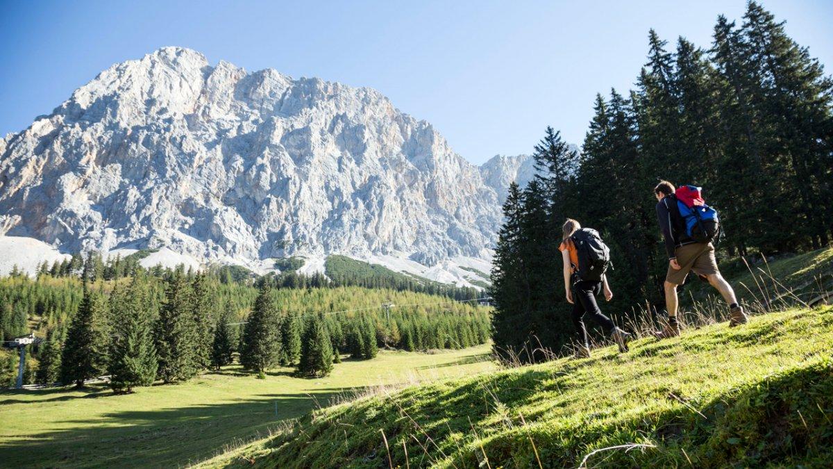 Sentiero dell'aquila: attraverso la Gaistal in direzione Zugspitze, © Tirol Werbung