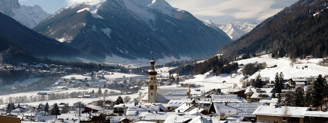 Fulpmes in inverno, © Stubai Tirol