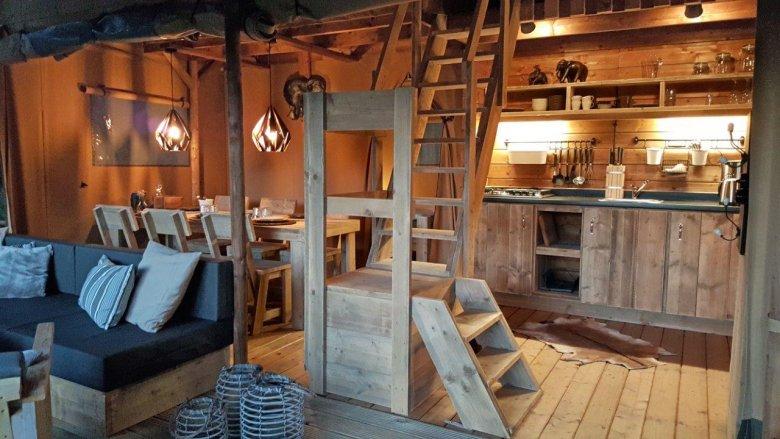 Living Ferienparadies Natterer See – Tenda-Lodge Safari