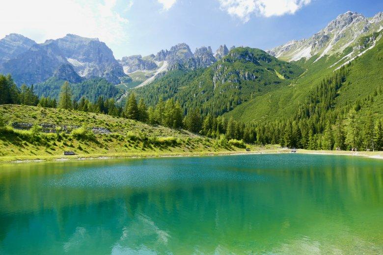 Uno dei luoghi più belli di tutta la valle: il Panorama See.