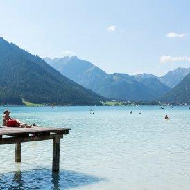 Il lago balneabile Achensee, © Tirol Werbung/W9 STUDIOS