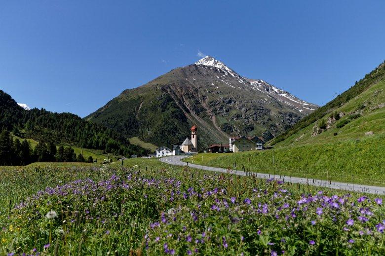 Il sentiero panoramico termina a Vent. , © Ötztal Tourismus, Anton Brey