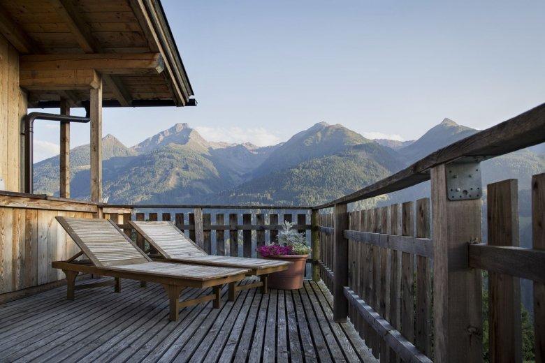 """Wellness"" con vista presso la fattoria Bartlerhof – Osttirol"