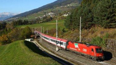 Viaggare in treno DB/ÖBB