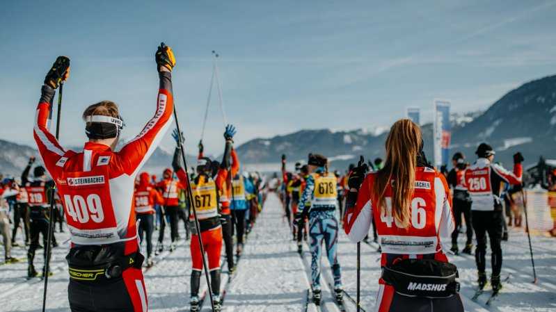 La gara internazionale Koasalauf, © Tirol Werbung / Charly Schwarz