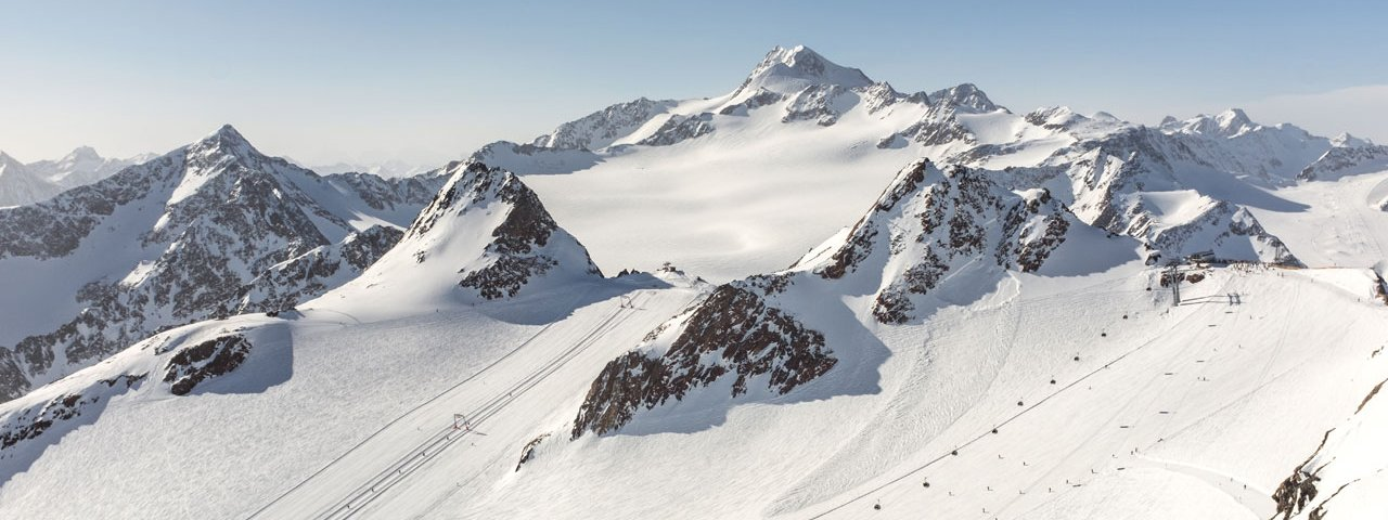 Il comprensorio sciistico di Sölden, © Tirol Werbung / Hans Herbig