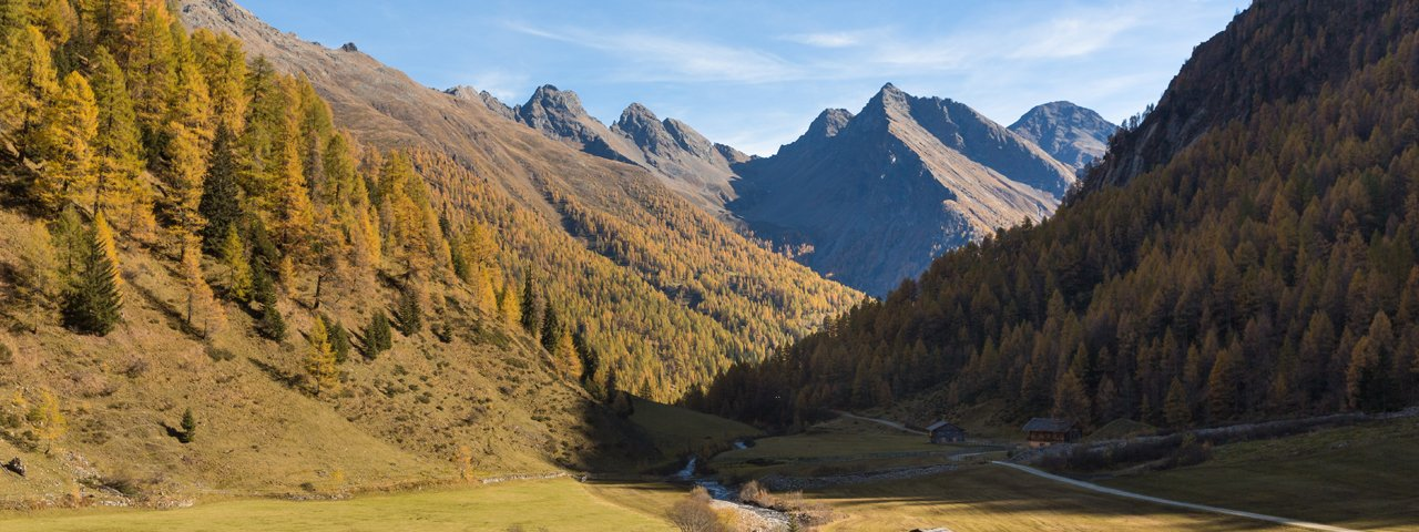 In autunno nella valle Winkeltal