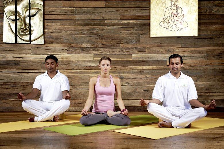 Sessioni individuali di yoga e laboratori speciali di yoga. , © Ayurveda-Resort Sonnhof