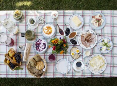 Il modo migliore per iniziare la giornata – la colazione nel Klampererhof a Virgen nel Osttirol.