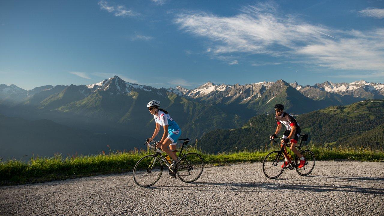 Tour per bici da corsa: strada alpina Zillertaler Höhenstraße, © Michael Werlberger