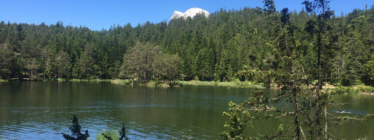 Lago naturale balneabile Möserer See, © Tirol Werbung
