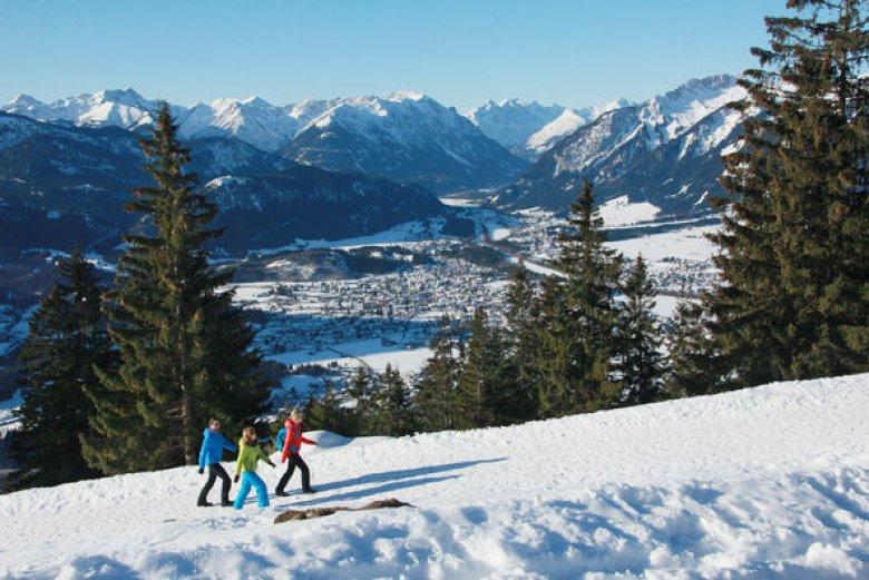 Passeggiate invernali nella valle Lechtal (Foto: Eisenschink)