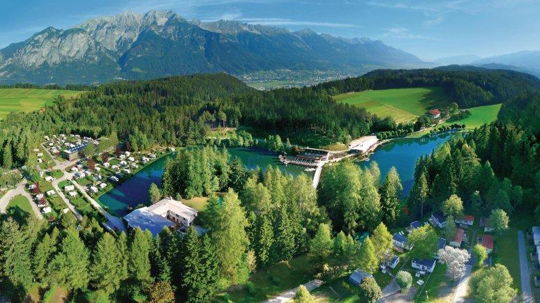 Il campeggio Natterer See, © Innsbruck Tourismus/Natterer See