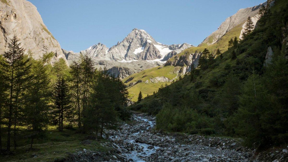 Sentiero dell'aquila: vista sul Großglockner, la montagna più alta dell'Austria, © Tirol Werbung