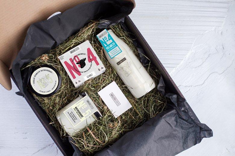 Elegante e ecosostenibile: il confezionamento dei ragazzi del latte. Foto: ce.studio / christinaehammer.com