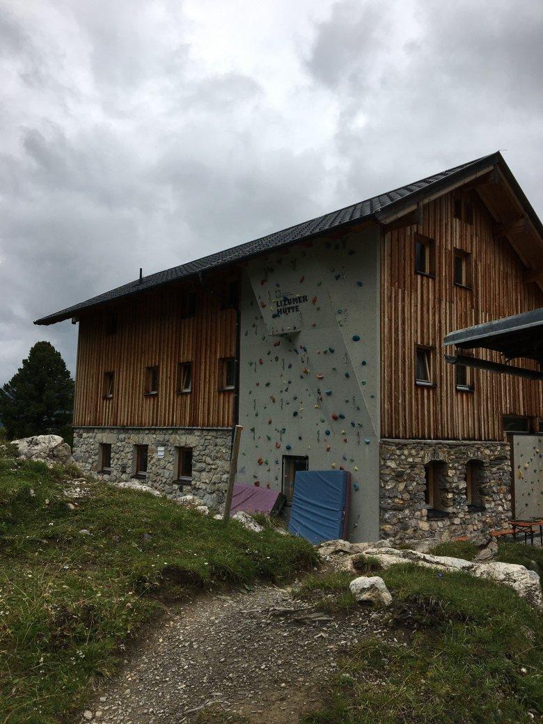 Il rifugio Lizumer Hütte. Foto: Julia Müller