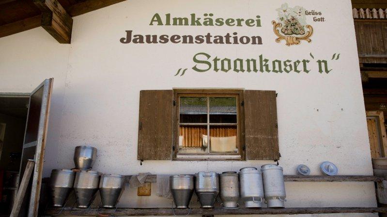 Caseificio alpino Stoankasern, © Tirol Werbung / Maren Krings
