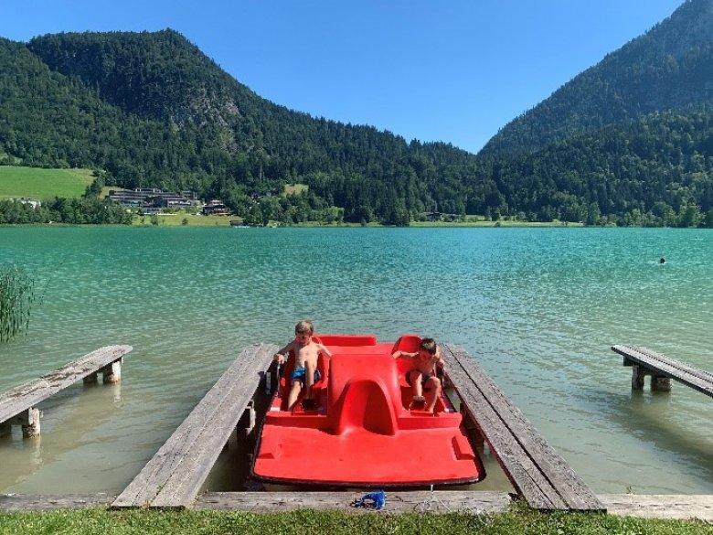 Il lago Thiersee