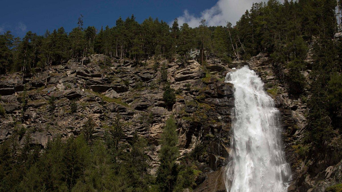 La cascata Stuibenfall, © Tirol Werbung / Frank Stolle