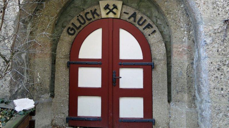 L'ingresso al museo dei minatori di Hall in Tirol, © Region Hall-Wattens