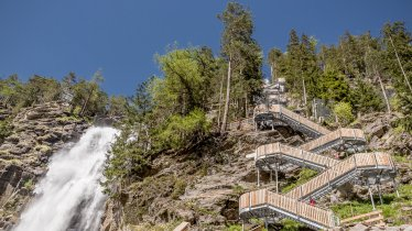 La cascata Stuibenfall, © Ötztal Tourismus