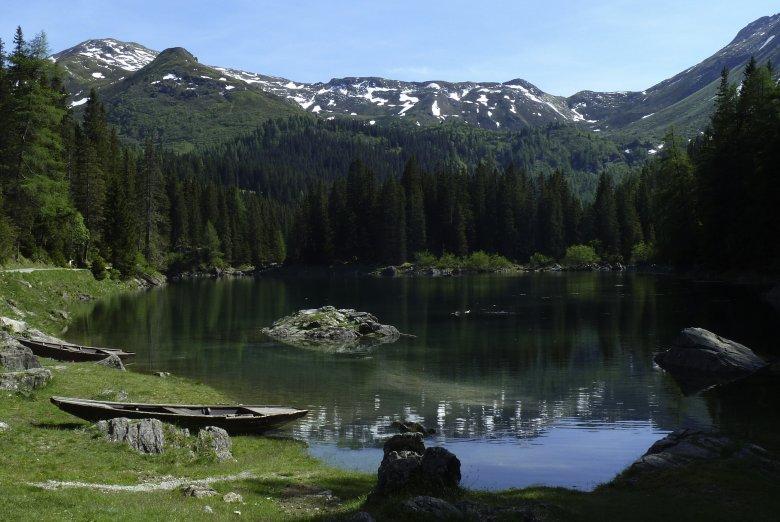 Lago Obernberger See © Bernhard Aichner