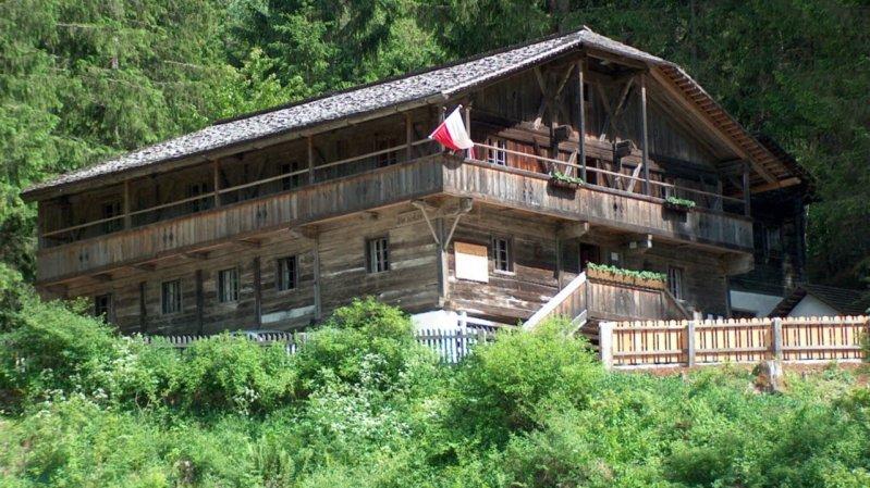 Fonte termale Aigner Badl, © Osttirol Tourismus