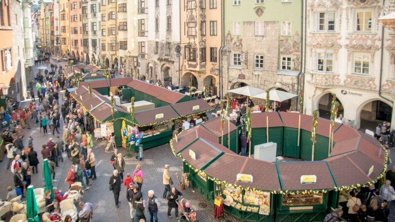 Il mercatino di Pasqua a Innsbruck, © Innsbruck Tourismus/Alexander Tolmo
