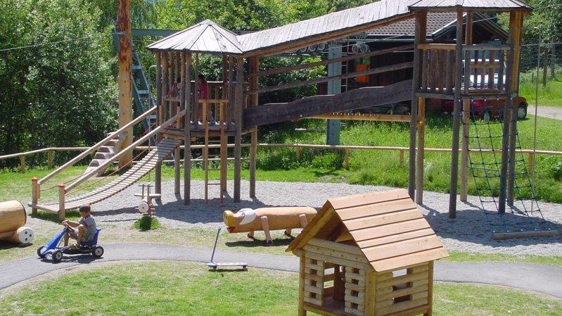 Parco giochi, © Erlebniswelt/Wildpark Assling