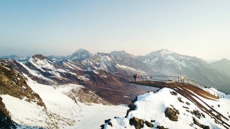 La piattafomra panoramica Top of Tyrol, © Andre Schönherr