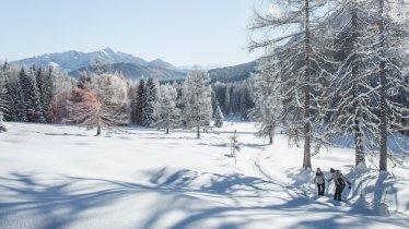Escursione invernale nella valle Gaistal, © Olympiaregion Seefeld