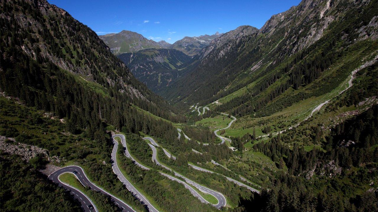 Strada alpina Silvretta Hochalpenstraße, © Achim Mende