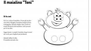 "Il maialino ""Toni"""